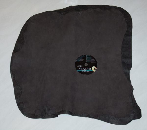 Велюр МРС, тёмно-коричневый, 35 дм2-742095