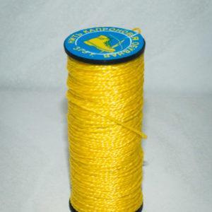 Нить капроновая крученая, жёлтая (текс 375)-900001