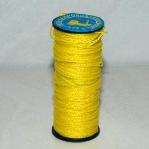 Нить капроновая крученая, лимонная (текс 375)-900004