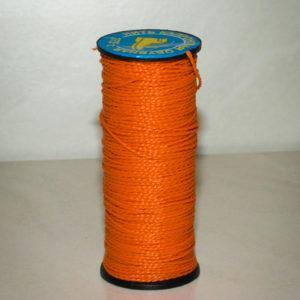 Нить капроновая крученая, оранжевая (текс 375)-900006