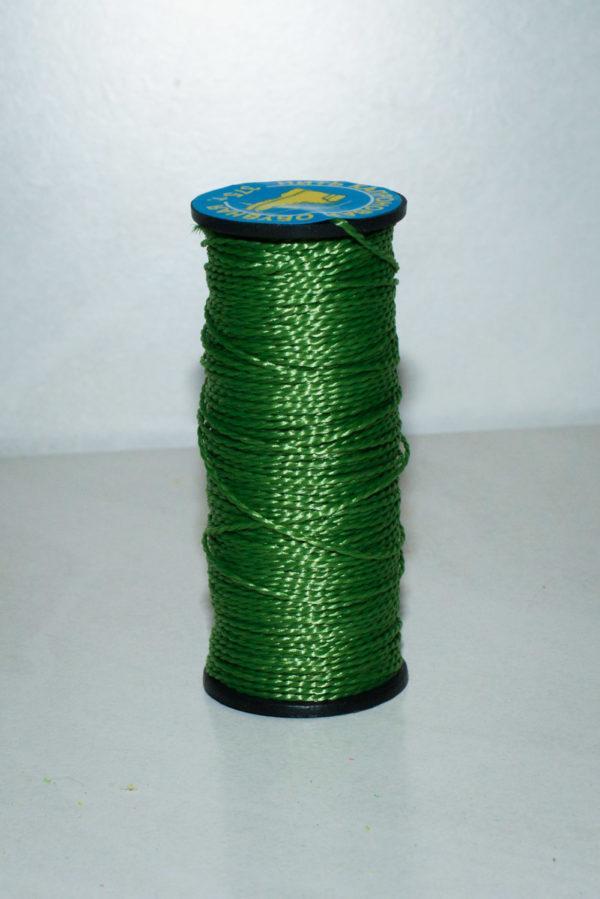 Нить капроновая крученая, зелёный камуфляж (текс 375)-900007