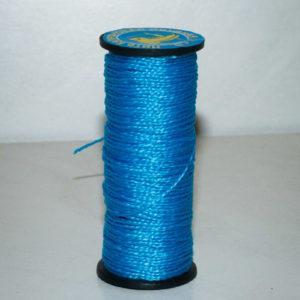 Нить капроновая крученая, голубая (текс 375)-900009