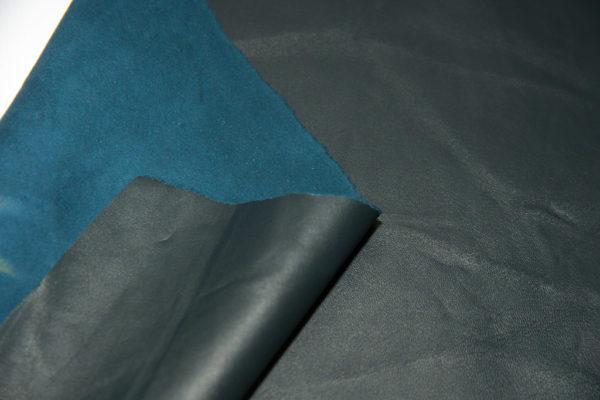 Кожа МРС, тёмно-синяя, 18 дм2.-909317
