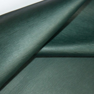 Кожа КРС, с тиснением, тёмно-зелёная, 132 дм2.-909336