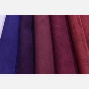 Велюр фиолетовых, сиреневых и бордовых оттенков