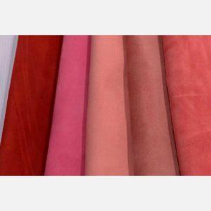 Велюр красных, розовых и малиновых оттенков