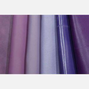 Кожа фиолетовых и сиреневых оттенков