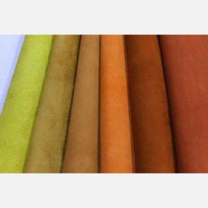 Велюр оранжевых, желтых и рыжих оттенков