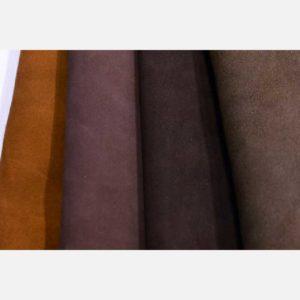 Велюр коричневых оттенков