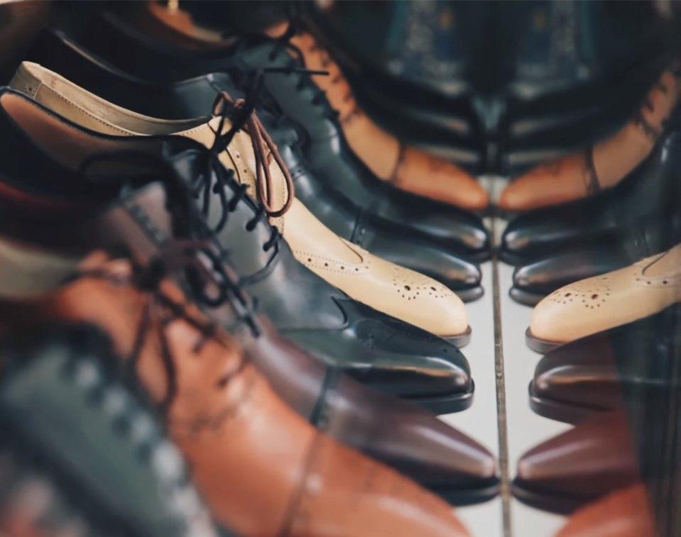 обувная кожа, шкуры для натуральной обуви - фото