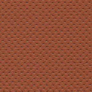 PU фактурная кожа с перфорацией, Швайцер (Schweitzer), рыжая - PU2837p