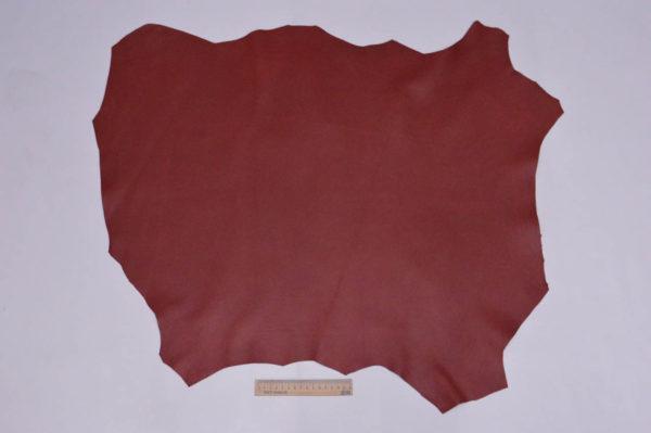 Кожа МРС, тёмно-красная, 50 дм2, Russo di Casandrino S.p.A.-105145