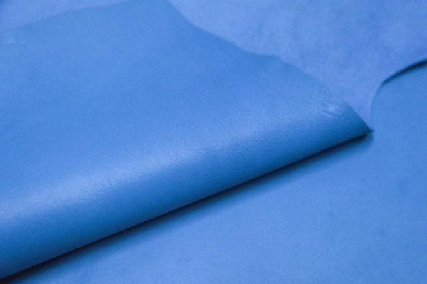 Кожа МРС, голубая, 55 дм2, Russo di Casandrino S.p.A.-105157