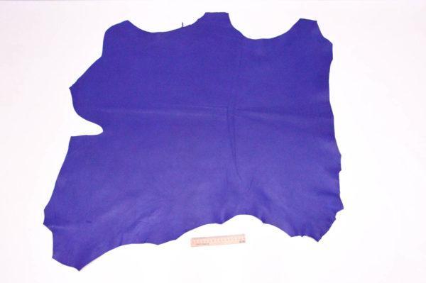 Кожа МРС, ультрамарин, 63 дм2, Russo di Casandrino S.p.A.-105160