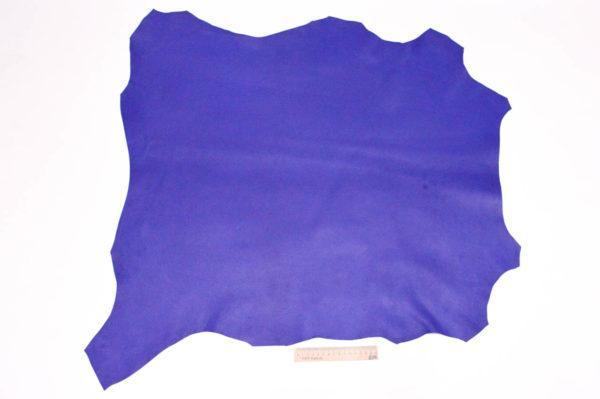 Кожа МРС, ультрамарин, 58 дм2, Russo di Casandrino S.p.A.-105162