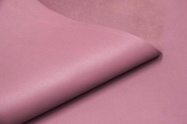 Кожа МРС, тёмно-розовая, 41 дм2, Russo di Casandrino S.p.A.-105172