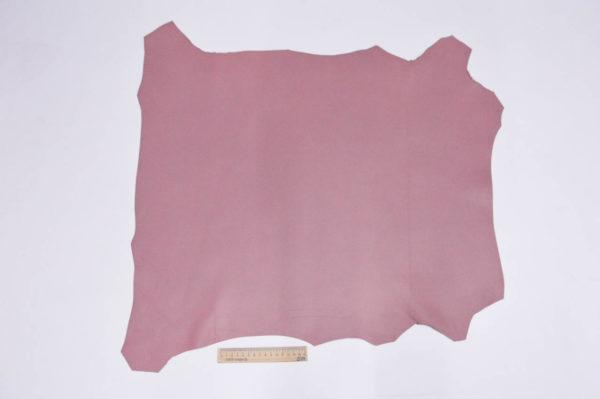 Кожа МРС, тёмно-розовая, 43 дм2, Russo di Casandrino S.p.A.-105173