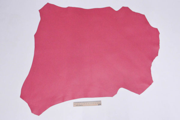 Кожа МРС, коралловая, 46 дм2, Russo di Casandrino S.p.A.-105182