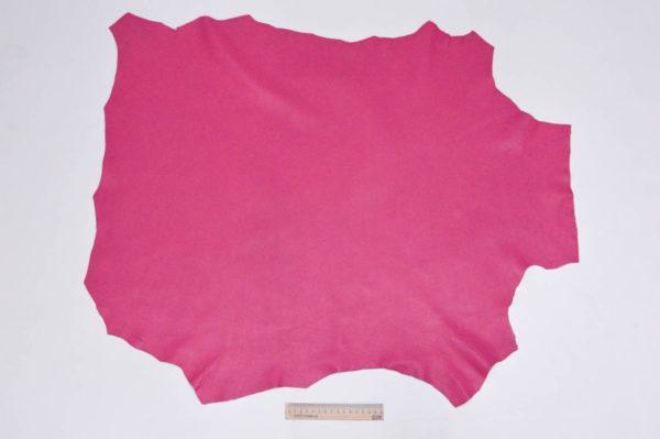Кожа МРС, малиновая, 55 дм2, Russo di Casandrino S.p.A.-105185