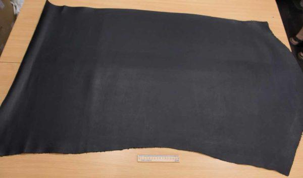 Кожа КРС растительного дубления, чёрная, 99 дм2, Tempesti S.p.A.-501056