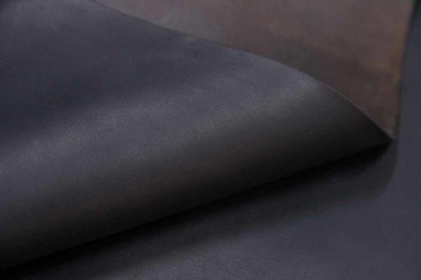Кожа КРС растительного дубления, чёрная, 99 дм2, Tempesti S.p.A.-501059