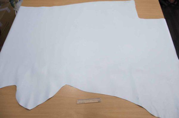 Кожа КРС, белая (холодный), 136 дм2.-501073