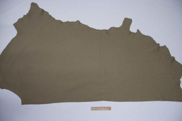 Кожа КРС, флотар, светлый хаки, 115 дм2, Upimar S.r.l.-501107