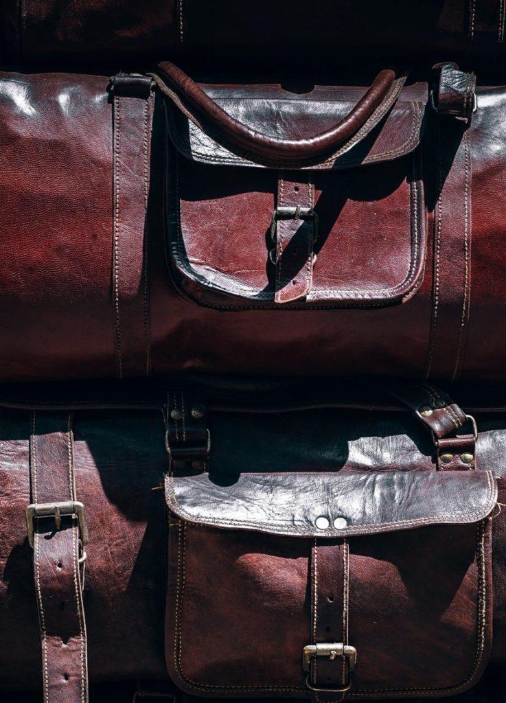 Кожа козы сумка - фото