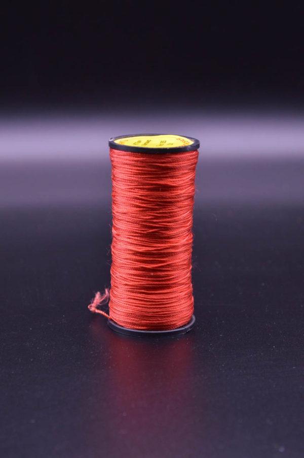 Нить капроновая крученая, ярко-красная (текс 185)