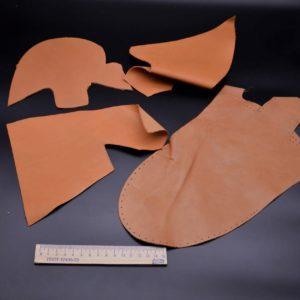 Кожа КРС, светло-коричневая, 11 дм2.-1-002