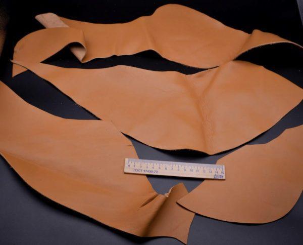 Кожа КРС, светло-коричневая, 19 дм2.-1-006