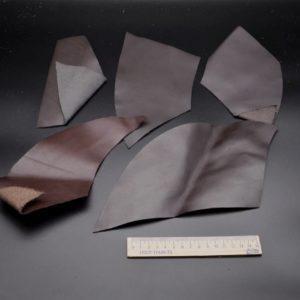 Кожа КРС, тёмно-коричневая, 11 дм2.-1-028