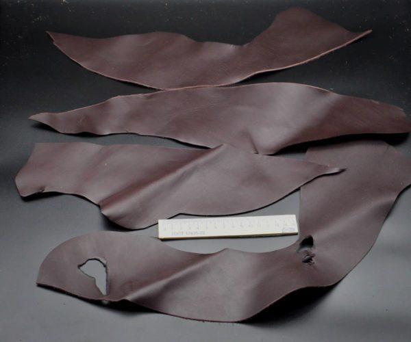 Кожа КРС, шоколадная, 16 дм2.-1-046