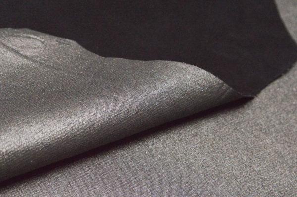 Кожа МРС с принтом, серый металлик, 48 дм2, Russo di Casandrino S.p.A.-105070