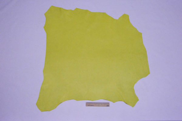 Кожа МРС, лимонная, 55 дм2, Russo di Casandrino S.p.A.-105108