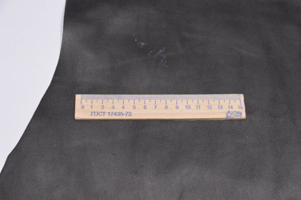 Кожа МРС, чёрная, 51 дм2, Russo di Casandrino S.p.A.-105130