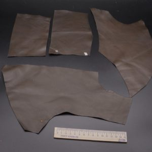 Кожа КРС, тёмно-коричневая, 10 дм2.-1-065