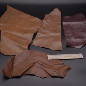 Кожа МРС, коричневый микс, 15 дм2.-1-067