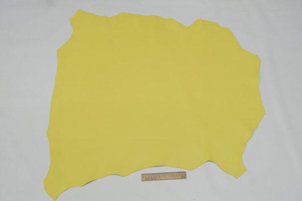 Кожа МРС, жёлтая, 57 дм2.-107016