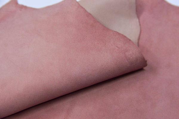 Велюр МРС, бледно-розовый, 28 дм2.-107026
