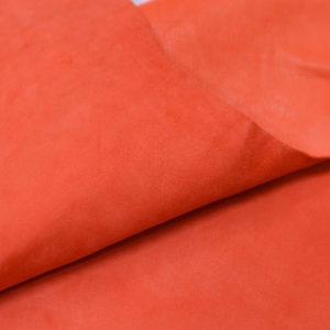Велюр МРС, морковный, 29 дм2.-107034