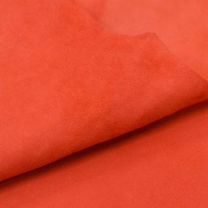 Велюр МРС, морковный, 29 дм2.-107038