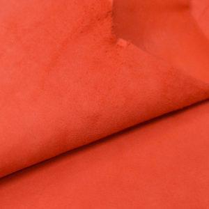Велюр МРС, морковный, 29 дм2.-107040