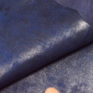Велюр МРС с напылением, синий, 26 дм2.-107042