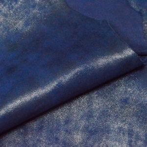 Велюр МРС с напылением, синий, 29 дм2.-107045