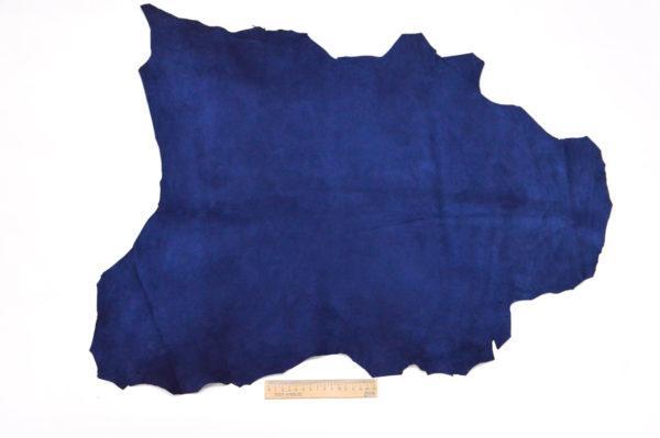 Велюр МРС (коза), синий, 39 дм2.-107057
