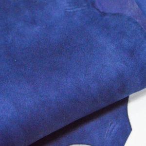 Велюр МРС (коза), синий, 38 дм2.-107059
