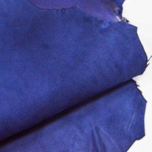 Велюр МРС (коза), синий, 33 дм2.-107062