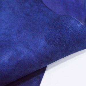 Велюр МРС (коза), синий, 39 дм2.-107064