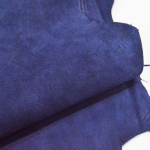 Велюр МРС (коза), синий, 39 дм2.-107066